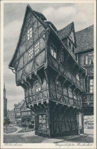 Hildesheim Umgestülpter Zuckerhut, altes Gebäude (Zeichnung) 1930