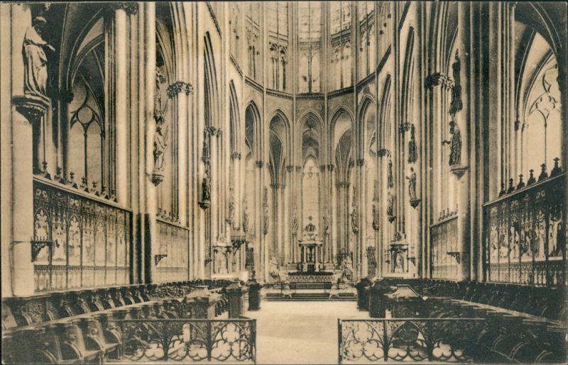 Ansichtskarte Köln Kölner Dom Innenansicht Chor 1910