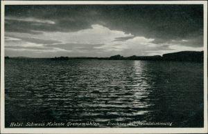 Bad Malente-Gremsmühlen-Malente Dieksee Abendstimmung über dem See 1930