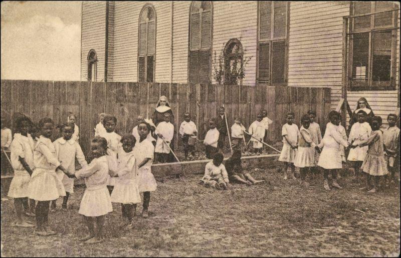 .USA United States of America Negermission Kindergarten Föbelschool USA 1924