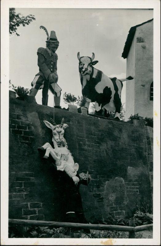Postcard Breslau Wrocław Johannisfest 1936