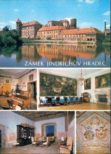 Neuhaus / Böhmen Jindřichův Hradec Zámek, Slavatovský sál,  jídelna 1980