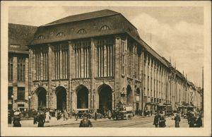 Ansichtskarte Mitte-Berlin Wertheim Leipziger Straße 1920