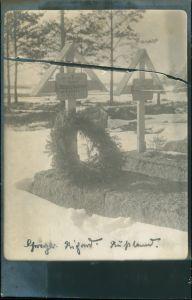 .Russland Militär/Propaganda 1.WK (Erster Weltkrieg) Rußland Россия Kriegsgräber 1917 Privatfoto