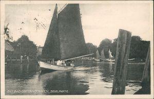 Osternothafen (Ostswine)-Swinemünde Warszów Świnoujście Segelpartie 1932