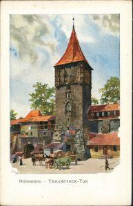 Nürnberg Tiergärtner-Tor, Sonder-AK Bayer. Jubiläums Landesausstellung 1906
