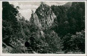 Hirschsprung-Breitnau Höllental Schwarzwald Hirschsprung, Felsen-Formation 1940