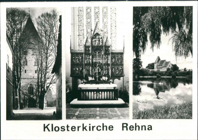rehna i meckl blick ber das klosterhof nr 12495 oldthing ansichtskarten deutschland plz. Black Bedroom Furniture Sets. Home Design Ideas