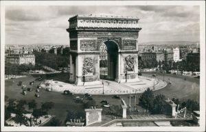 CPA Paris Pariser Triumphbogen Arc de Triomphe de l'Étoile 1950