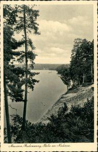 Rudczanny-Nieden (Niedersee) Ruciane-Nida Niedersee, Masuren Landschaft 1930