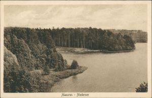 Rudczanny-Nieden (Niedersee) Ruciane-Nida Niedersee, Masuren  1920