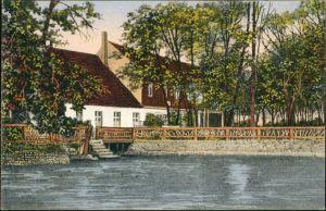 Ansichtskarte Strausberg Schlagmühle 1911