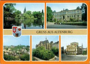 Ansichtskarte Altenburg Gruß aus Altenburg 1986/1989
