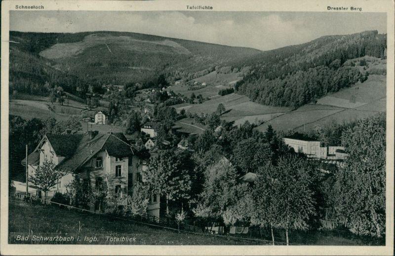 Bad Schwarzbach-Bad Flinsberg Czerniawa-Zdrój Świeradów-Zdrój Engadin 1937