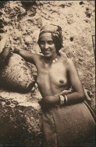 Nordaufrika nackte Frau   Erotik (Nackt - Nude) Erotika Fotokunst 1922