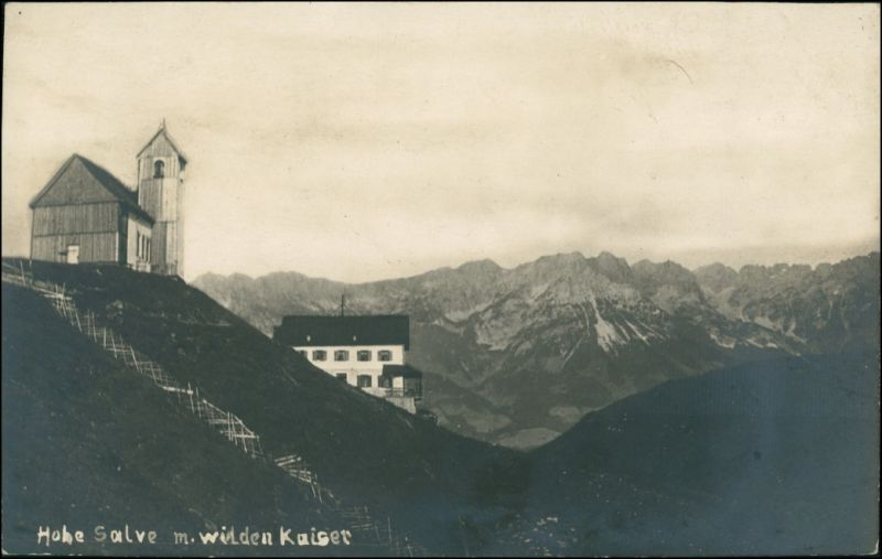 Ansichtskarte Hopfgarten Gipfelrestaurant