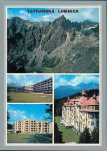 Tatralomnitz-Vysoké Tatry Tatranská Lomnica Malá Studená dolina,    1985
