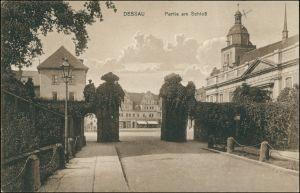 Ansichtskarte Dessau-Dessau-Roßlau Am Schloß - Markt 1911