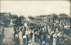 Ansichtskarte Leipzig Weltausstellung Buchgewerbe Kinderfestzug 1914