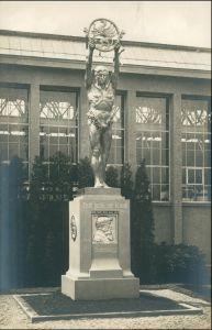 Ansichtskarte Leipzig Weltausstellung Buchgewerbe Denkmal Lehnert 1914