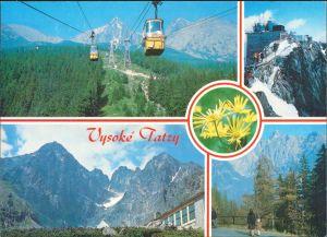 Tatralomnitz-Vysoké Tatry Tatranská Lomnica Lomnitzer  VYSOKÉ TATRY 1989