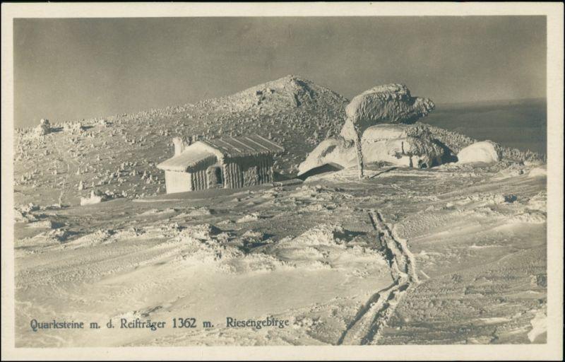 Schreiberhau Szklarska Poręba Reifträger/Szrenica - verschneit 1930