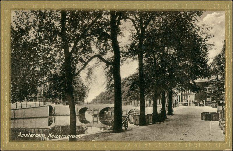 Postkaart Amsterdam Amsterdam Keizergracht - Straße 1913