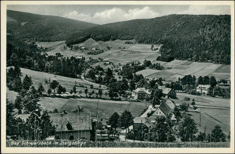 Bad Schwarzbach-Bad Flinsberg Czerniawa-Zdrój Świeradów-Zdrój Stadtpartie 1943