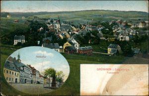 Beierfeld-Grünhain-Beierfeld 2 Bild: Stadt, Ratskeller - Erzgebirge 1922