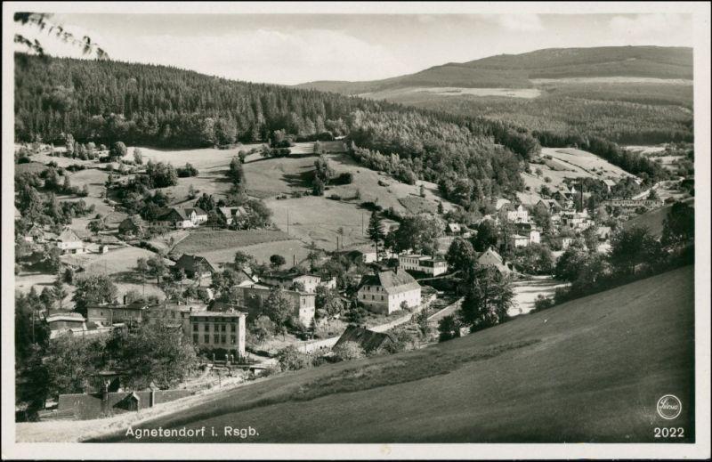 Agnetendorf-Hirschberg (Schlesien) Jagniątków Jelenia Góra an der Stadt 1930