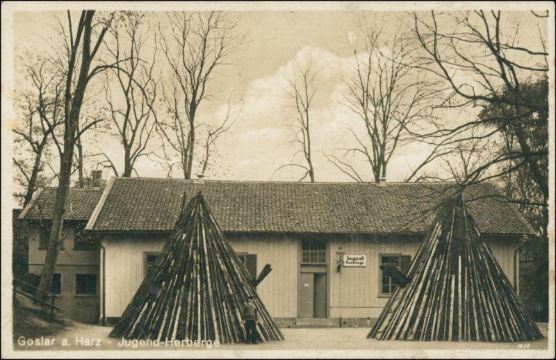 Ansichtskarte Goslar Jugendherberge Meiler 1934