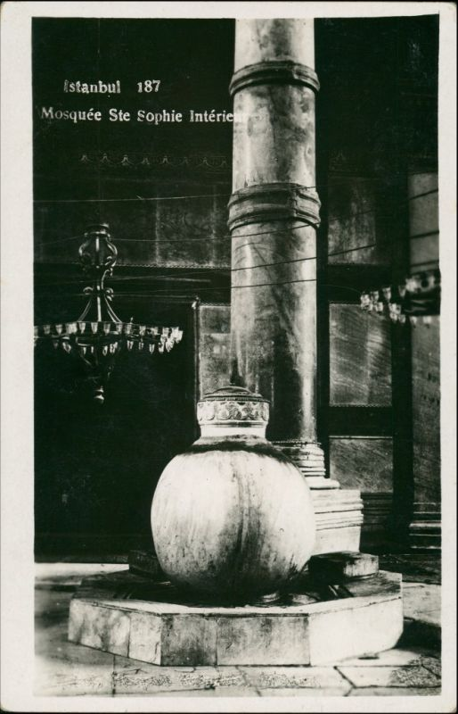 Istanbul Konstantinopel | Constantinople Hagia Sophia - Innenansicht 1930