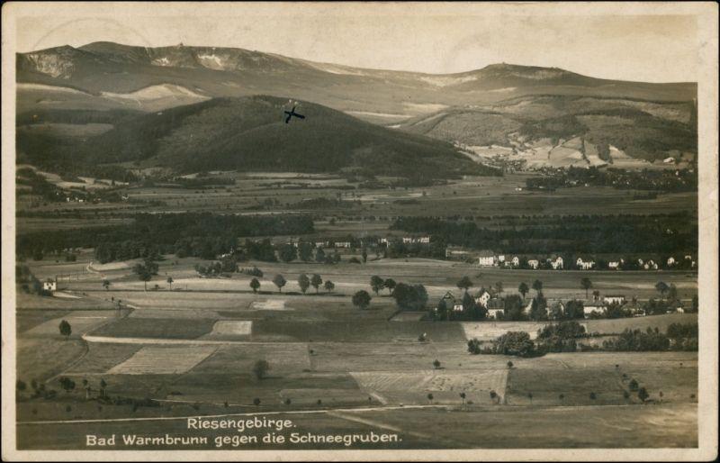Herischdorf-Hirschberg (Schlesien) Malinnik Jelenia Góra  Schneegruben 1932