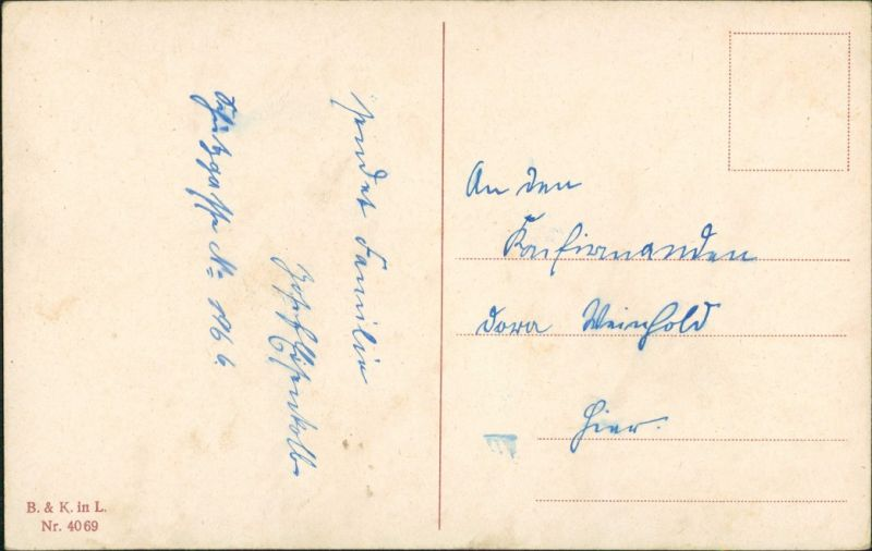 Spruch Konfirmation Karte.Ansichtskarte Glückwunsch Konfirmation Ephes 6 10 Bibel Spruch 1920