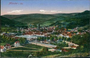 Münster (Elsass) Munster (Haut-Rhin) Gesamtansicht aus der Totale 1910
