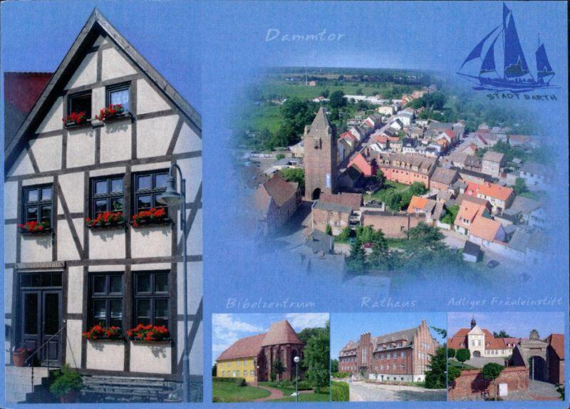 Barth Dammtor, Bibelzentrum, Rathaus, Adliger Fräuleinstift 1995 0