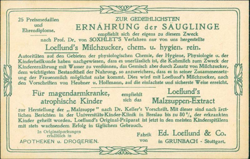 Rom Roma Il Pantheon Werbekarte Loeflund Stuttgart Grunbach 1912 1