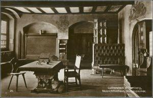 Ansichtskarte Lutherstadt Wittenberg Melanchthonhaus - Studierzimmer 1928