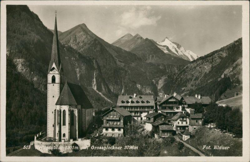 Heiligenblut am Großglockner  Fernansicht von Dorfmitte Heiligenblut    e 1931
