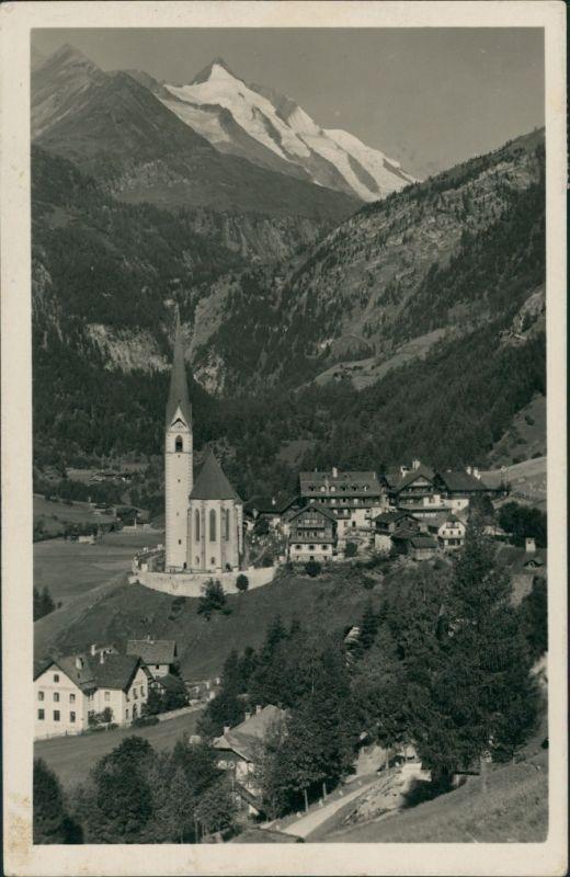 Heiligenblut am Großglockner Kirche Heiligenblut   Alpen Großglockner 1930