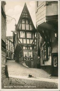 Bernkastel-Kues Berncastel-Cues Marktplatz H Photographie Postkarte 1930