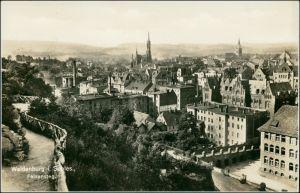 Postcard Waldenburg (Schlesien) Wałbrzych Felsensteg, Stadt, Fabrik 1928