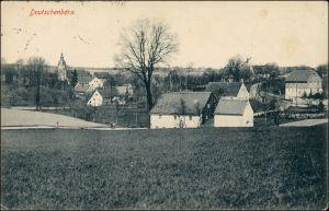 Ansichtskarte Deutschenbora-Nossen Stadtpartie 1912