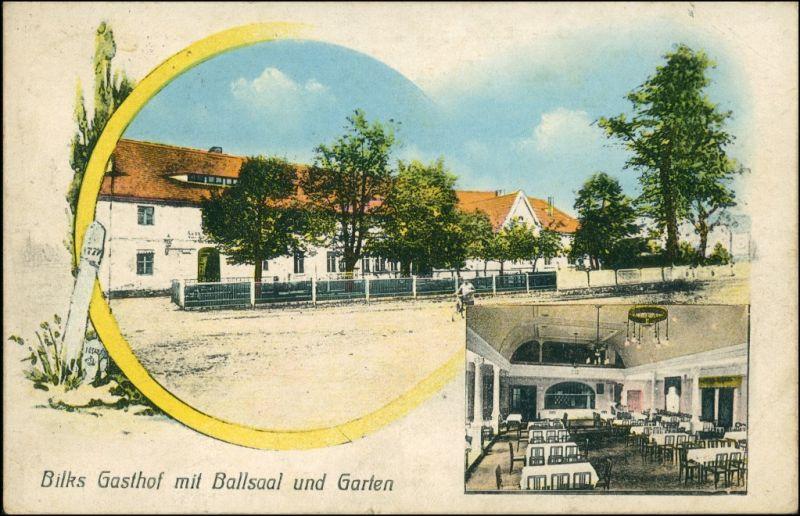 Gelenau-Kamenz Kamjenc 2 Bild Saal und Gasthaus zur Erholung 1915