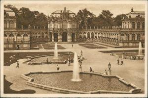 Innere Altstadt-Dresden Dresdner Zwinger Zwingerhof AK Reichswinterhilfe-Lotterie 1934