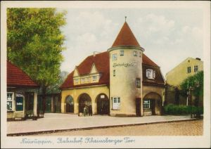 Ansichtskarte Neuruppin Bahnhof
