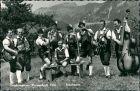 Ansichtskarte  Musikgruppe Trachtenverein Weissenbach Sensentanz 1966