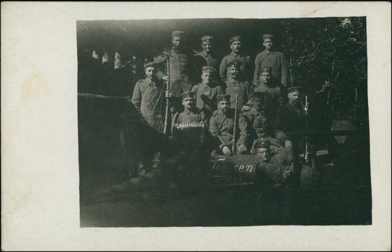 Foto  Soldaten WK1 in den Vogesen Vosges 1918 Privatfoto