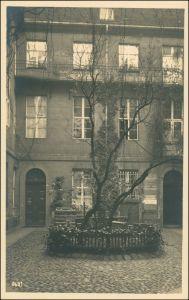 Ansichtskarte Mitte-Berlin Brüderstraße 13 Nicolaihaus Hof Schilder 1926