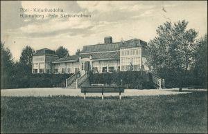 Postcard Pori Björneborg Landehaus 1913
